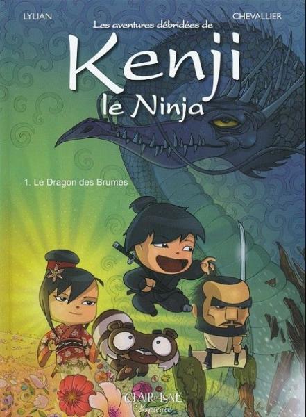 Kenji le ninja 1 Le dragon des brumes