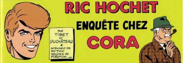 Ric Hochet (Bd Must) 2 Enquête Chez Cora