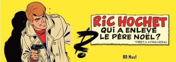 Ric Hochet (Bd Must) 4 Qui a enlevé le Pére Noël?