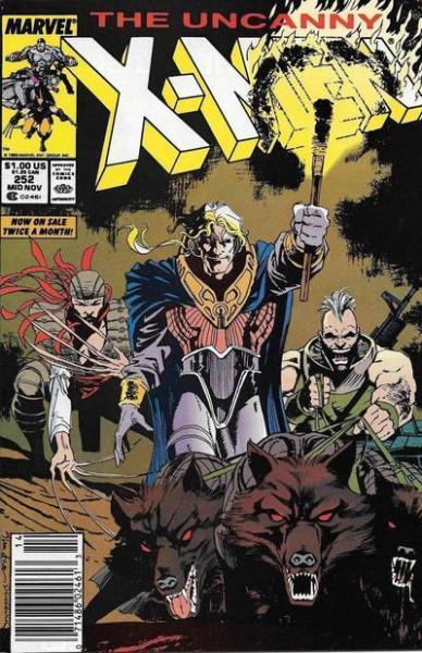 The Uncanny X-Men 252 Where's Wolverine?!?