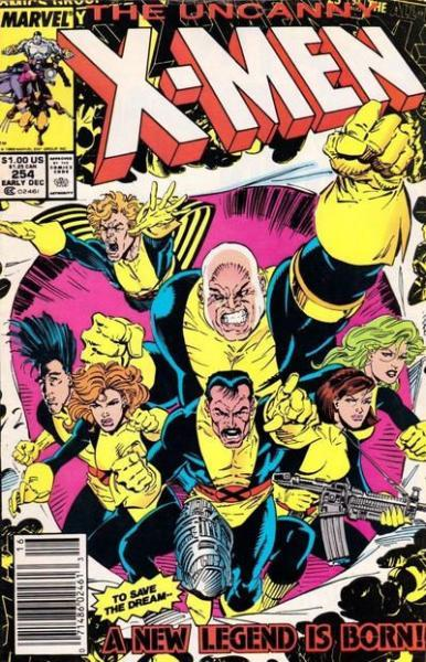 The Uncanny X-Men 254 All-New, All-Different -- Here We Go Again