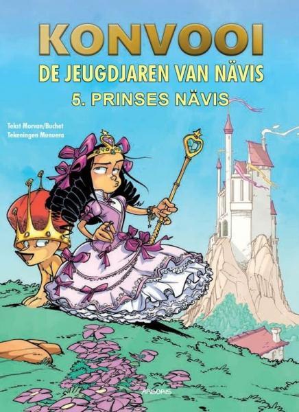 Konvooi - De jeugdjaren van Nävis 5 Prinses Nävis