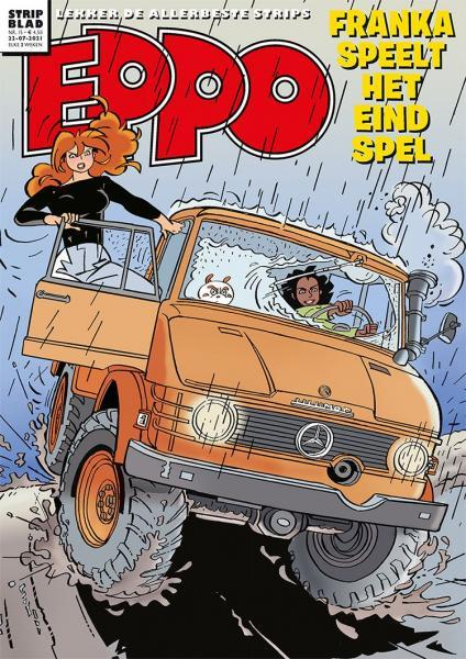 Eppo - Stripblad 2021 (Jaargang 13) 15 Nummer 15