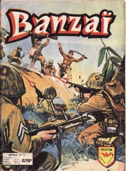 Banzaï 54 Le soldat sans nom