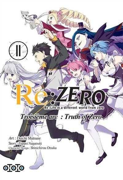 Re:Zero - Troisième arc: Truth of zero 11 Volume 11