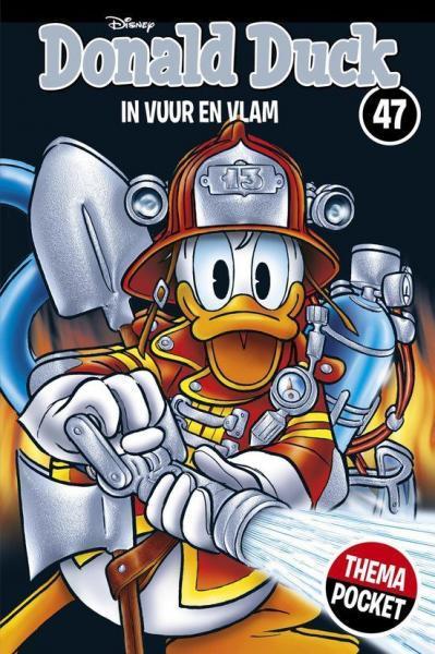 Donald Duck dubbelpocket extra 47 In vuur en vlam