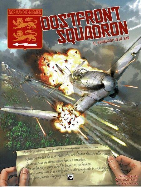 Normandie-Niemen - Oostfront Squadron 4 Vuurdoop in de Yak