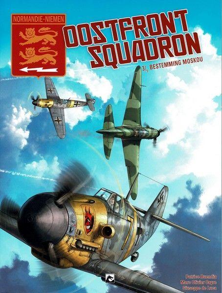 Normandie-Niemen - Oostfront Squadron 3 Bestemming Moskou