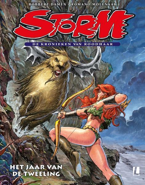 Storm - De kronieken van Roodhaar 6 Het jaar van de tweeling