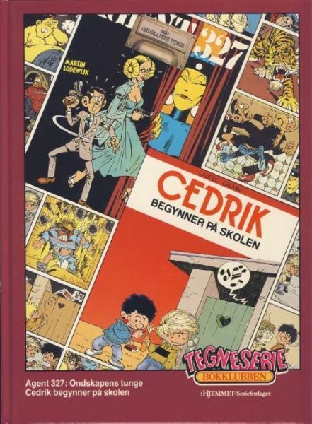 Tegneserie bokklubben 60 Ondskapens tunge / Cedrik begynner på skolen
