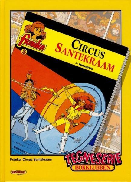 Tegneserie bokklubben 85 Cirkus Santekraam / Eventyr fra Onkel Skrues skattekiste - Venezia