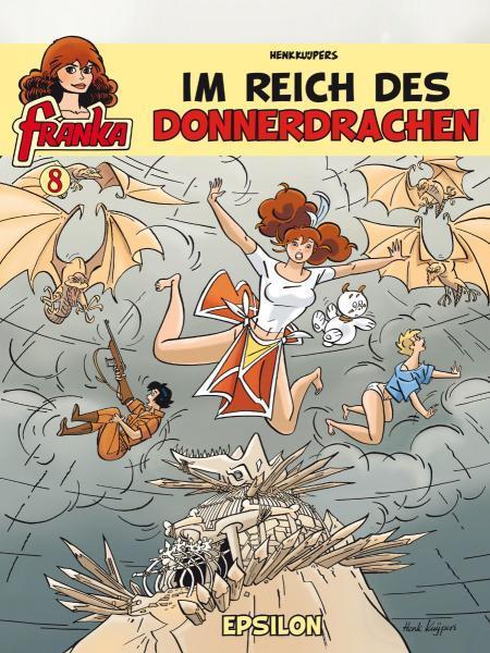Franka (Duitse uitgaven) A8 Im Reich des Donnerdrachen