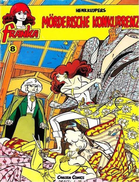 Franka (Duitse uitgaven) 8 Mörderische Konkurrenz