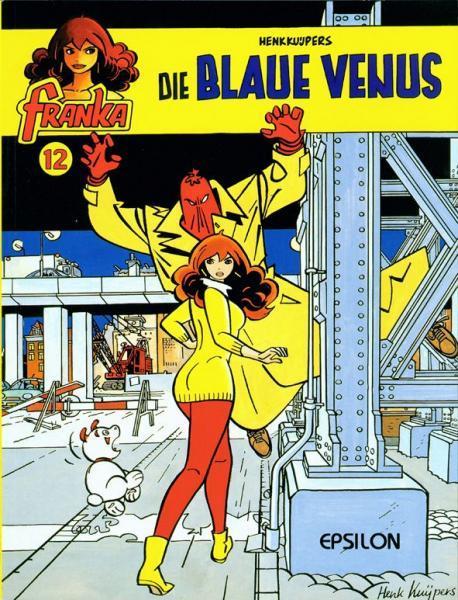 Franka (Duitse uitgaven) A12 Die blaue Venus
