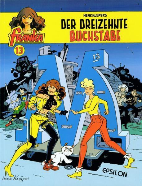 Franka (Duitse uitgaven) A13 Der dreizehnte Buchstabe