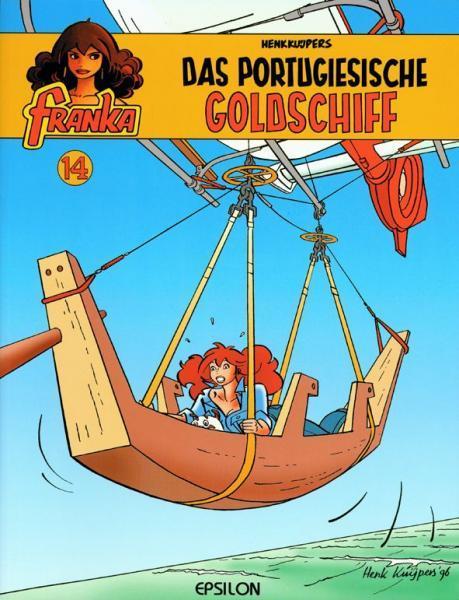 Franka (Duitse uitgaven) A14 Das Portugiesische Goldschiff