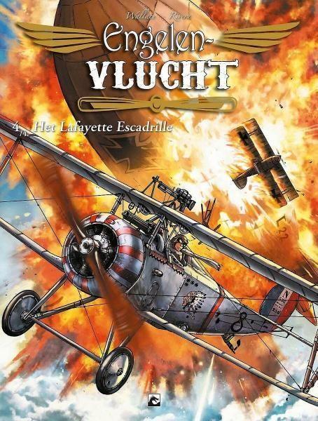 Engelenvlucht 4 Het Lafayette escadrille