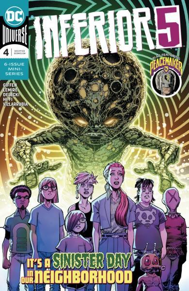 Inferior Five A4 Issue #4