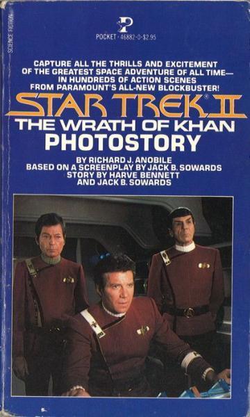 Star Trek photostory 2 The Wrath of Khan Photostory