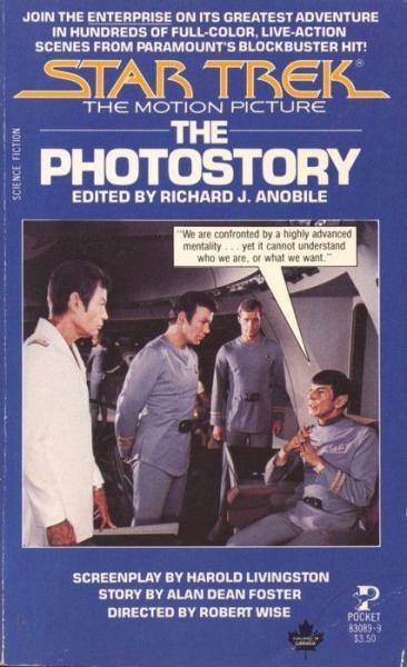Star Trek photostory 1 Star Trek: The Motion Picture - The Photostory