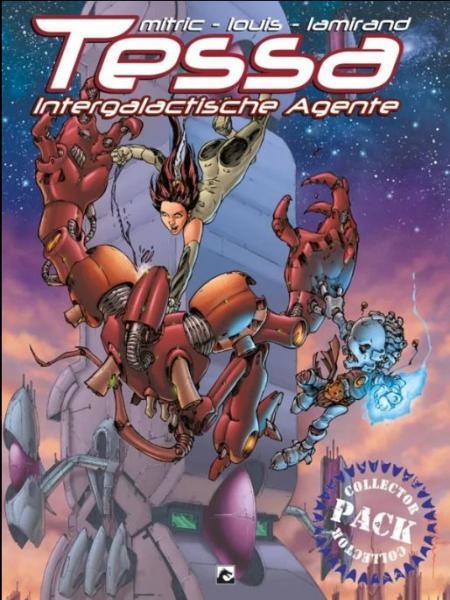 Tessa, Intergalactische agente INT *1 Tessa - Intergalactische agente