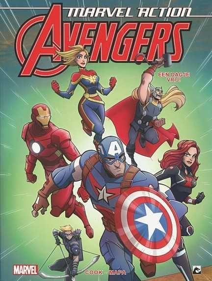 Marvel Action Avengers (Dark Dragon) 5 Een dagje vrij
