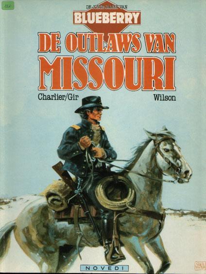 De jonge jaren van Blueberry 4 De outlaws van Missouri
