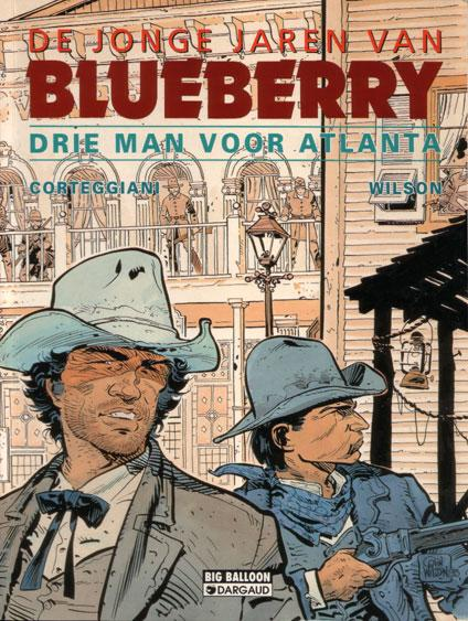 De jonge jaren van Blueberry 8 Drie man voor Atlanta