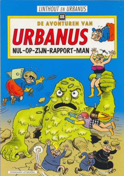 Urbanus 88 Nul-op-zijn-rapport-man