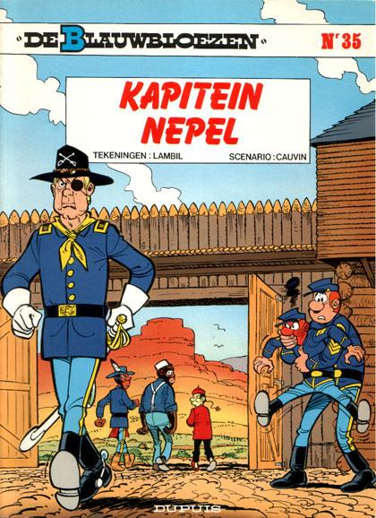 De Blauwbloezen 35 Kapitein Nepel