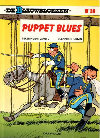 De Blauwbloezen 39 Puppet blues