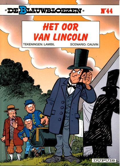 De Blauwbloezen 44 Het oor van Lincoln