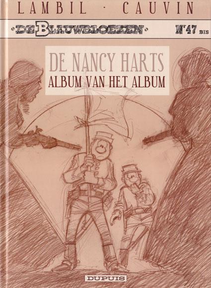 De Blauwbloezen 47 De Nancy Harts, album van het album