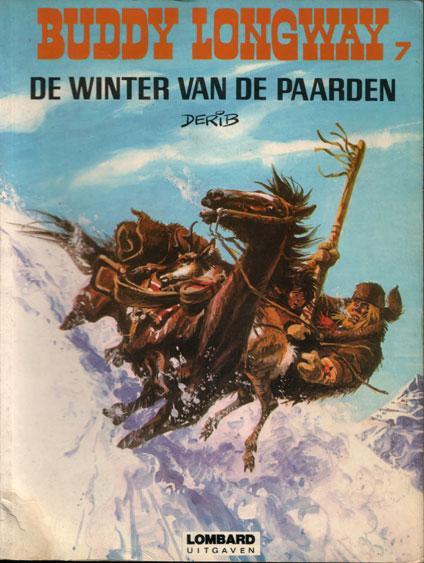 Buddy Longway 7 De winter van de paarden