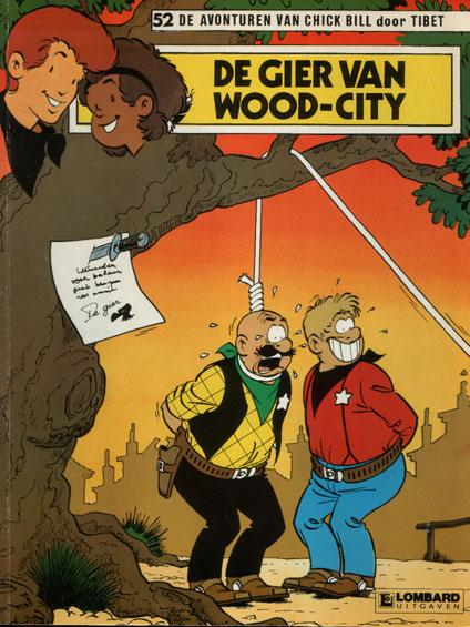 Chick Bill 52 De gier van Wood-City