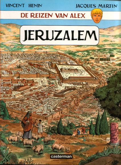 De reizen van Alex 14 Jeruzalem
