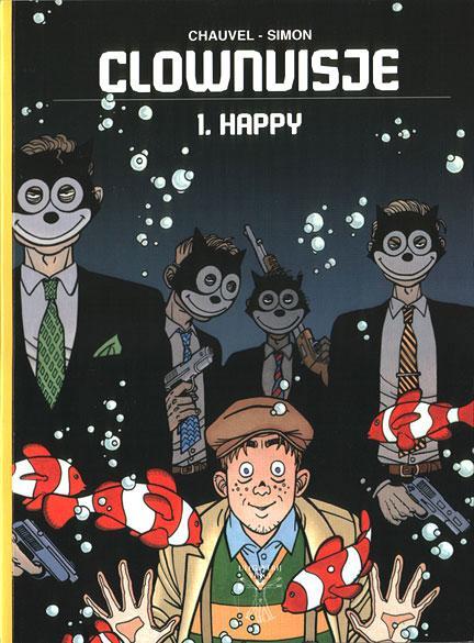 Clownvisje 1 Happy