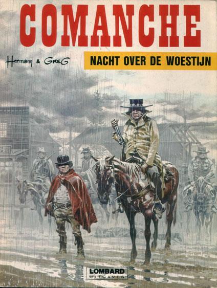 Comanche 5 Nacht over de woestijn