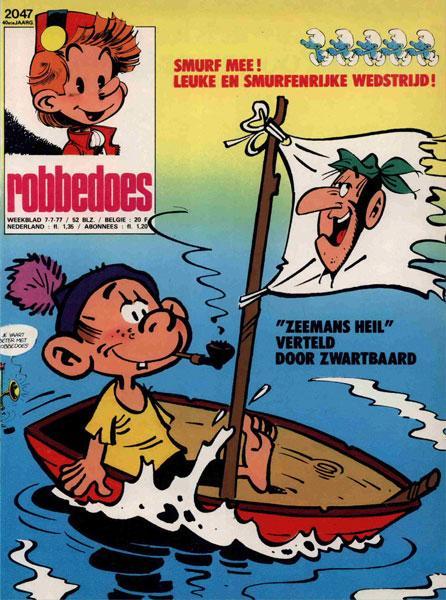 Robbedoes - Weekblad 1977 (jaargang 40) 2047 Nummer 2047