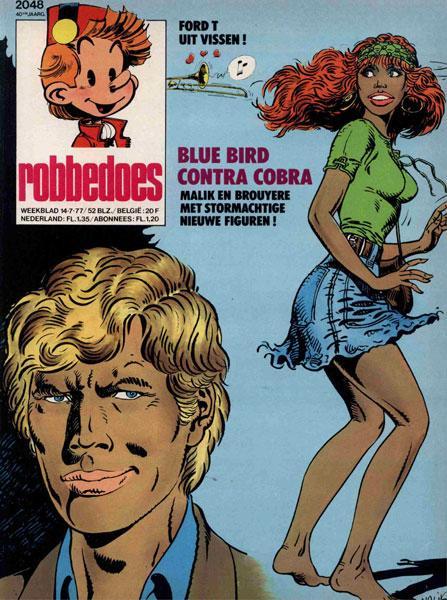 Robbedoes - Weekblad 1977 (jaargang 40) 2048 Nummer 2048