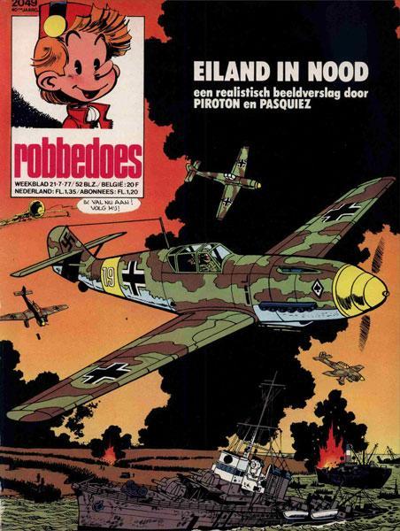 Robbedoes - Weekblad 1977 (jaargang 40) 2049 Nummer 2049