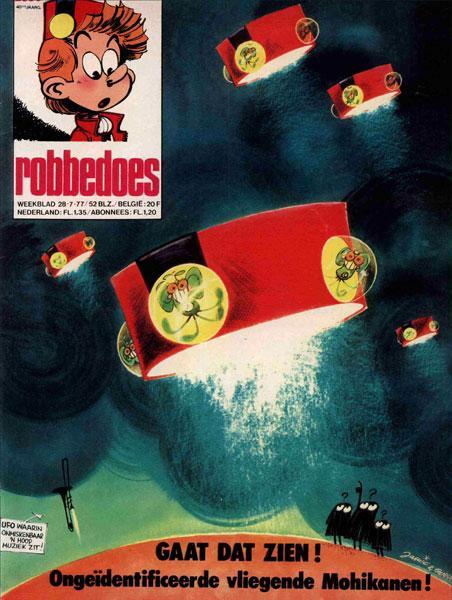 Robbedoes - Weekblad 1977 (jaargang 40) 2050 Nummer 2050