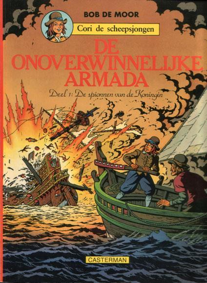 Cori de scheepsjongen 2 De onoverwinnelijke Armada - Deel 1: De spionnen van de koningin