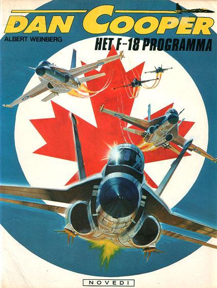 Dan Cooper 27 Het F-18 programma