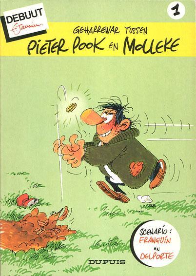 Pieter Pook en Molleke 1 Geharrewar tussen Pieter Pook en Molleke