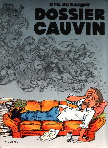 Dossier-reeks 5 Dossier Cauvin