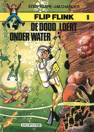Flip Flink 8 De dood loert onder water