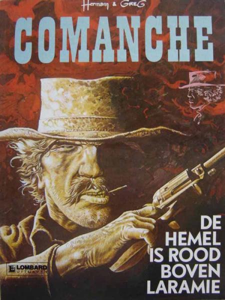 Comanche 4 De hemel is rood boven Laramie
