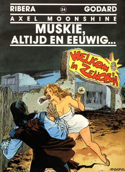 Axel Moonshine 24 Muskie, altijd en eeuwig...