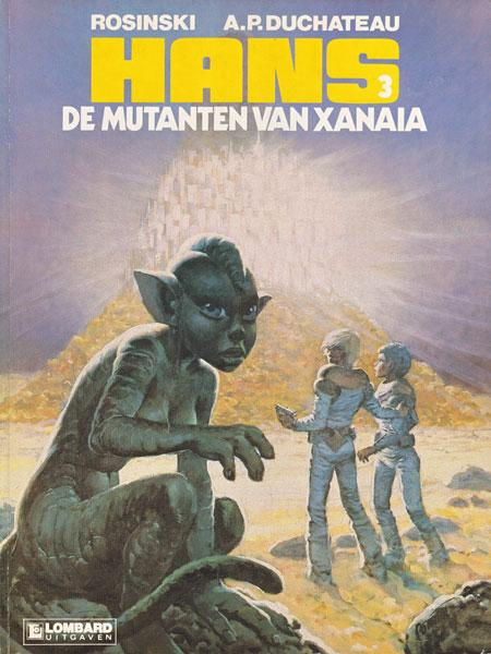 Hans (Rosinski/Kas) 3 De mutanten van Xanaïa